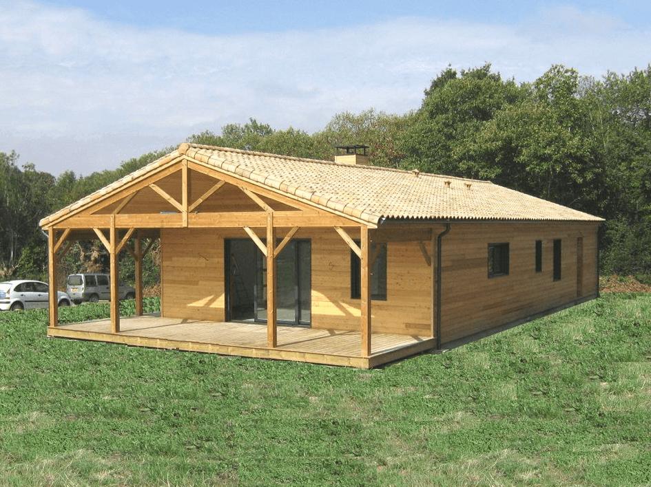 Modele de maison bois - trouvez la structure bois qui vous correpond