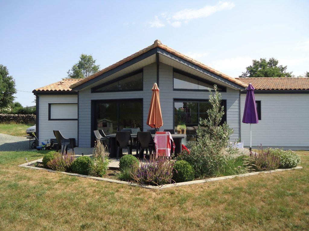 La fl che saint martin des noyers projet bois for Construire sa maison sur un terrain agricole